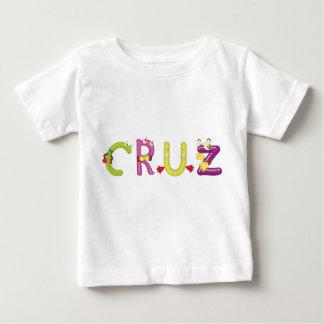 Camiseta Para Bebê T-shirt do bebê de Cruz