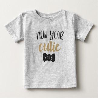 Camiseta Para Bebê T-shirt do bebê de Cutie do ano 2018 novo