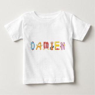 Camiseta Para Bebê T-shirt do bebê de Damien
