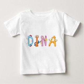 Camiseta Para Bebê T-shirt do bebê de Dina