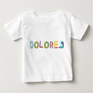 Camiseta Para Bebê T-shirt do bebê de Dolores