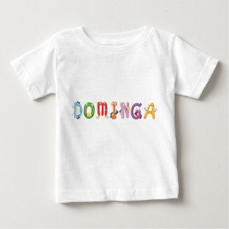 Camiseta Para Bebê T-shirt do bebê de Dominga