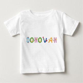 Camiseta Para Bebê T-shirt do bebê de Donovan