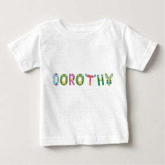 Camiseta Para Bebê T-shirt do bebê de Dorothy