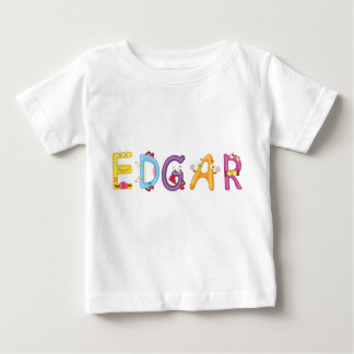Camiseta Para Bebê T-shirt do bebê de Edgar
