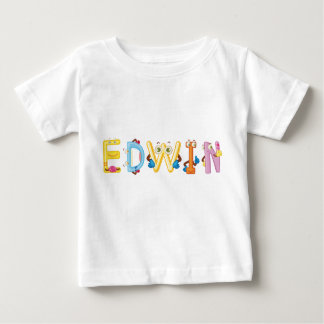 Camiseta Para Bebê T-shirt do bebê de Edwin