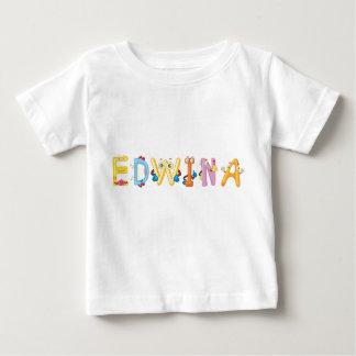 Camiseta Para Bebê T-shirt do bebê de Edwina