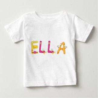 Camiseta Para Bebê T-shirt do bebê de Ella