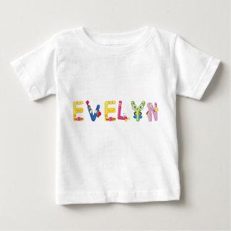 Camiseta Para Bebê T-shirt do bebê de Evelyn