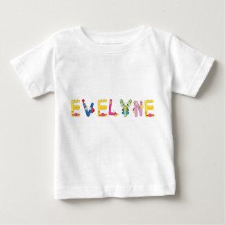 Camiseta Para Bebê T-shirt do bebê de Evelyne
