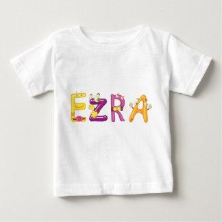 Camiseta Para Bebê T-shirt do bebê de Ezra