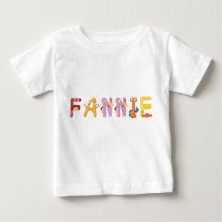 Camiseta Para Bebê T-shirt do bebê de Fannie