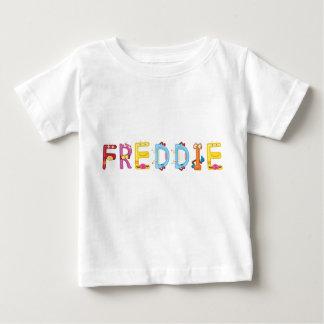 Camiseta Para Bebê T-shirt do bebê de Freddie