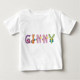 Camiseta Para Bebê T-shirt do bebê de Ginny