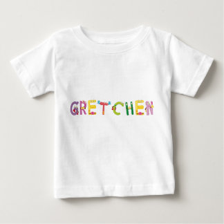 Camiseta Para Bebê T-shirt do bebê de Gretchen