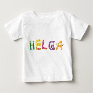 Camiseta Para Bebê T-shirt do bebê de Helga