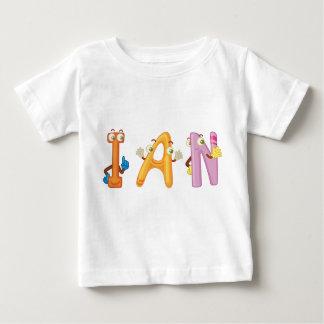 Camiseta Para Bebê T-shirt do bebê de Ian