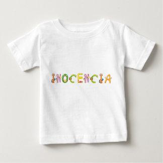 Camiseta Para Bebê T-shirt do bebê de Inocencia