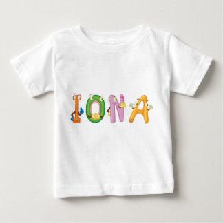 Camiseta Para Bebê T-shirt do bebê de Iona