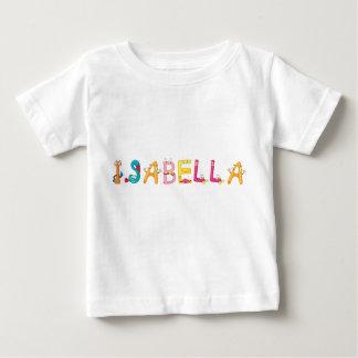 Camiseta Para Bebê T-shirt do bebê de Isabella