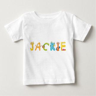 Camiseta Para Bebê T-shirt do bebê de Jackie