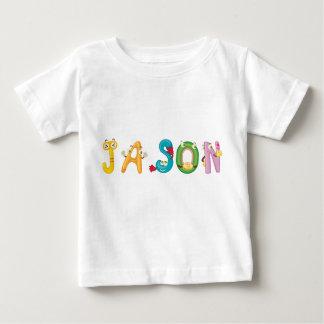Camiseta Para Bebê T-shirt do bebê de Jason