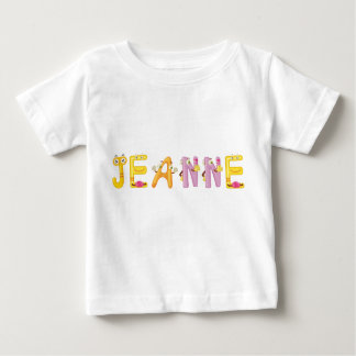 Camiseta Para Bebê T-shirt do bebê de Jeanne