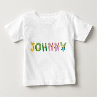 Camiseta Para Bebê T-shirt do bebê de Johnny