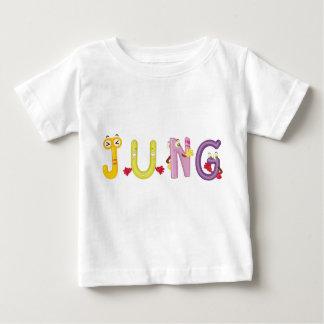 Camiseta Para Bebê T-shirt do bebê de Jung