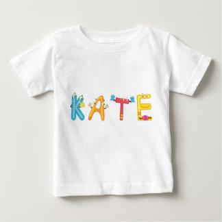 Camiseta Para Bebê T-shirt do bebê de Kate
