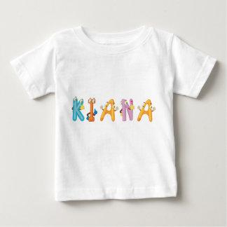 Camiseta Para Bebê T-shirt do bebê de Kiana