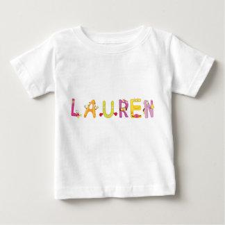 Camiseta Para Bebê T-shirt do bebê de Lauren