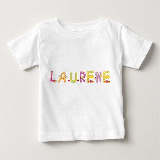 Camiseta Para Bebê T-shirt do bebê de Laurene