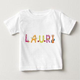 Camiseta Para Bebê T-shirt do bebê de Lauri