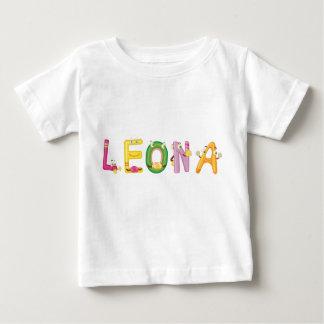 Camiseta Para Bebê T-shirt do bebê de Leona
