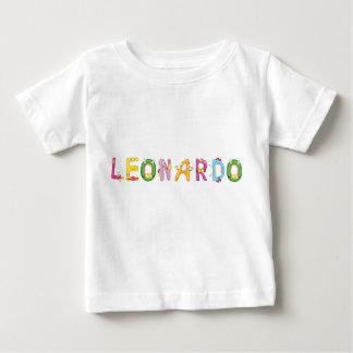 Camiseta Para Bebê T-shirt do bebê de Leonardo