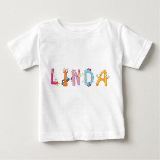Camiseta Para Bebê T-shirt do bebê de Linda