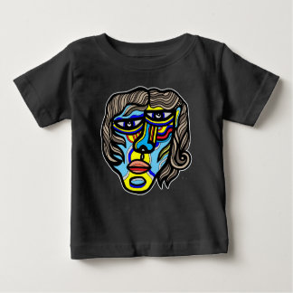 Camiseta Para Bebê T-shirt do bebê de Lycan