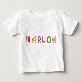 Camiseta Para Bebê T-shirt do bebê de Marlon