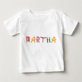 Camiseta Para Bebê T-shirt do bebê de Martha