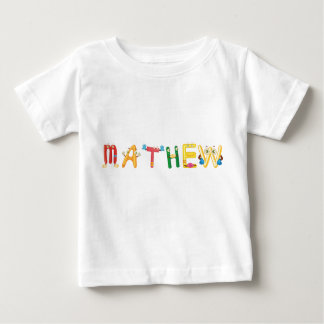 Camiseta Para Bebê T-shirt do bebê de Mathew