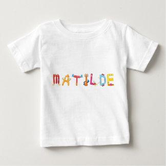 Camiseta Para Bebê T-shirt do bebê de Matilde