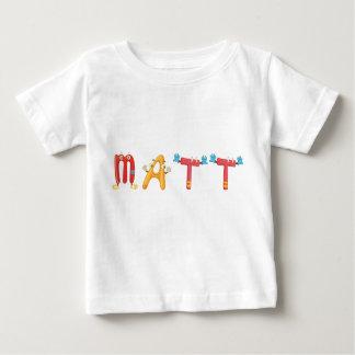 Camiseta Para Bebê T-shirt do bebê de Matt