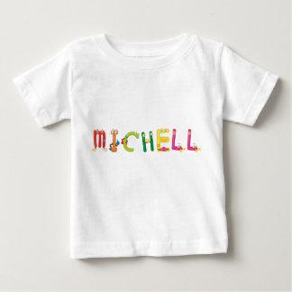 Camiseta Para Bebê T-shirt do bebê de Michell