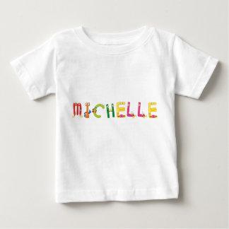 Camiseta Para Bebê T-shirt do bebê de Michelle
