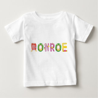 Camiseta Para Bebê T-shirt do bebê de Monroe