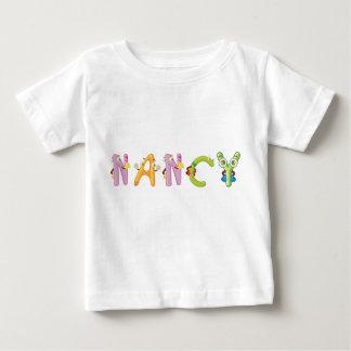 Camiseta Para Bebê T-shirt do bebê de Nancy
