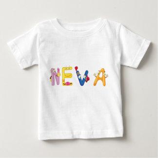 Camiseta Para Bebê T-shirt do bebê de Neva