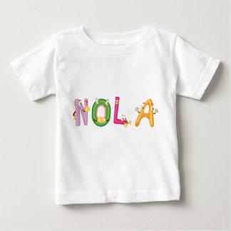 Camiseta Para Bebê T-shirt do bebê de Nola