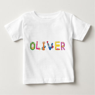 Camiseta Para Bebê T-shirt do bebê de Oliver